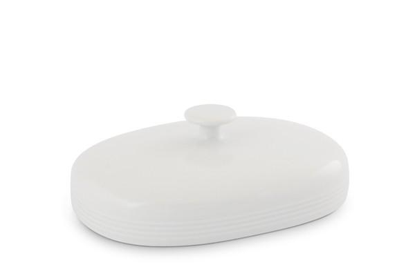 Oberteil Butterdose 250g Jeverland Weiß