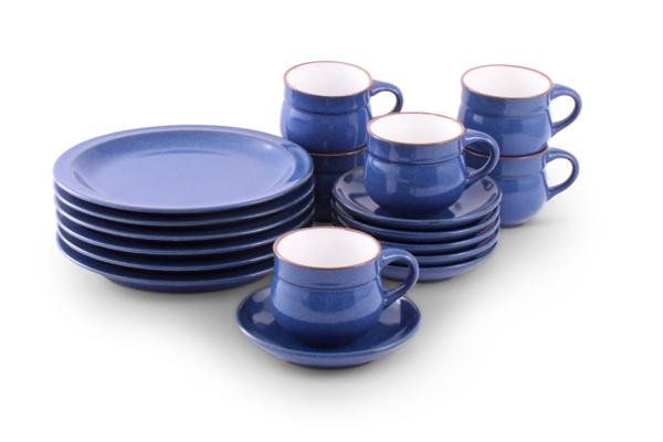 Ammerland Blue Kaffee Geschirr Friesland Porzellan