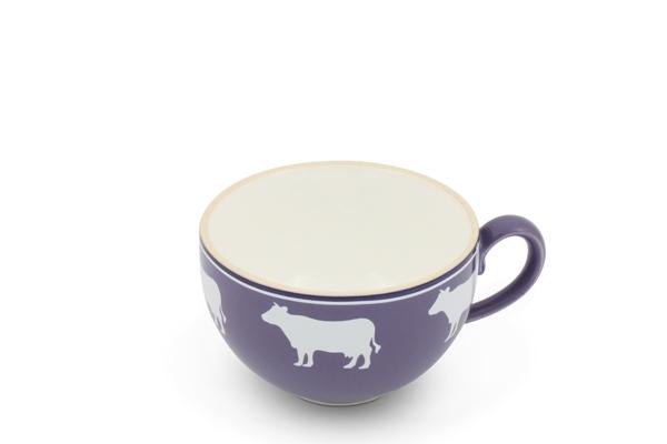 Kaffeetasse Landpartie Kühe Flieder Trendmix Friesland