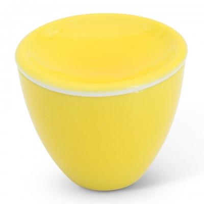 Zuckerdose, 0,15l Alta Gelb Walküre Porzellan