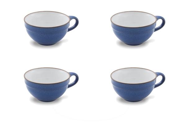 Viererset Teetassen Ammerland Blue Friesland