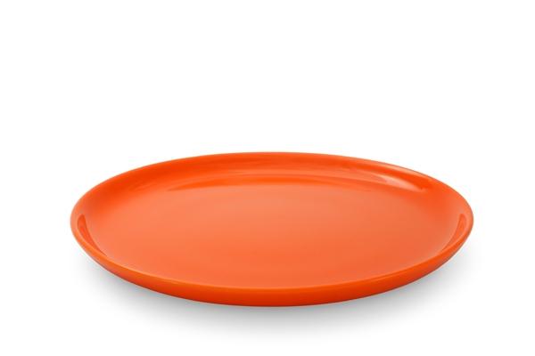 Frühstücksteller Happymix Orange Friesland Porzellan