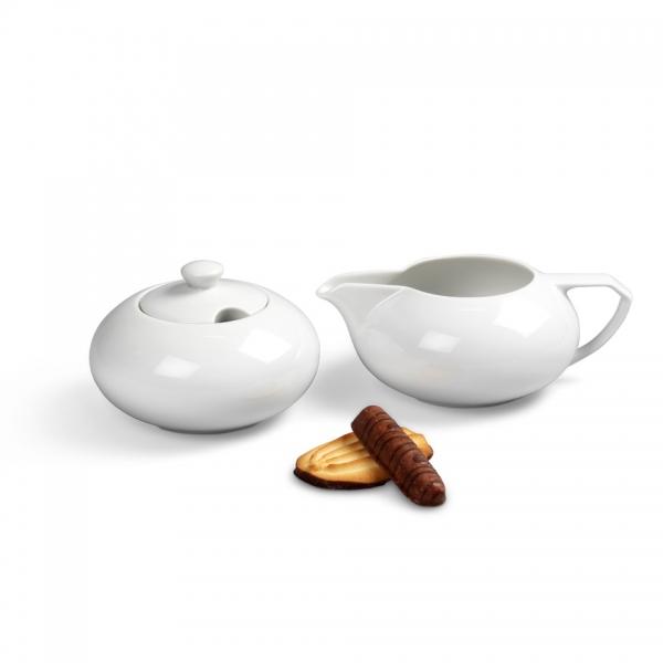 Ergänzungs-Set Kaffee 2tlg Ecco Weiß