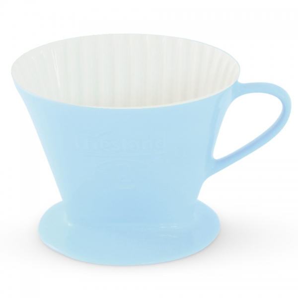 Kaffeefilter Größe 2 Friesland Porzellan Pastellblau