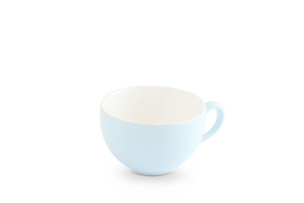 Kaffeeobertasse Pastellblau Weiss Trendmix Friesland Porzellan