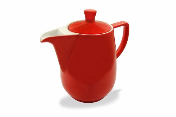Kaffeekanne 0,9l Rot