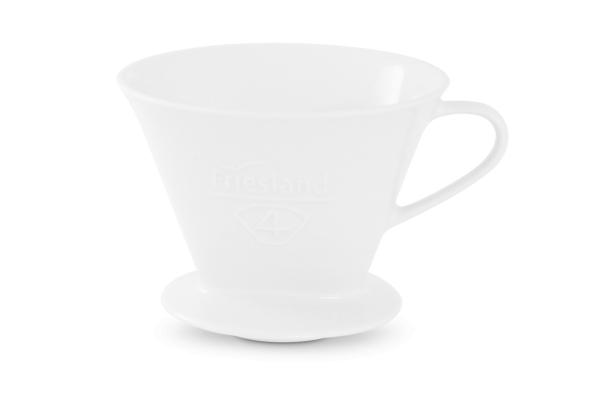 Melitta Kaffeefilter Friesland Porzellan weiß 1x4