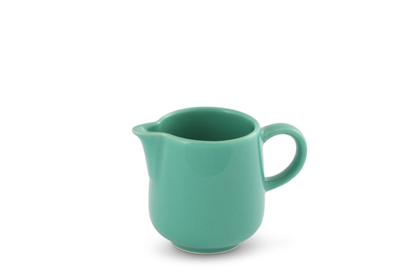 Milchkännchen Trendmix Jade-Grün Friesland Porzellan