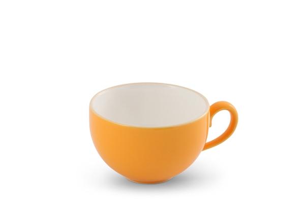 Kaffeetasse Happymix Safrangelb Friesland Porzellan