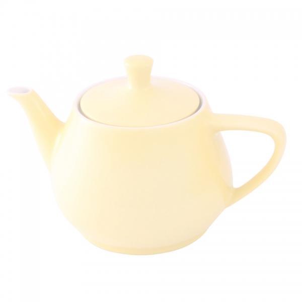 Teekanne 1,4l Pastellgelb Friesland Porzellan