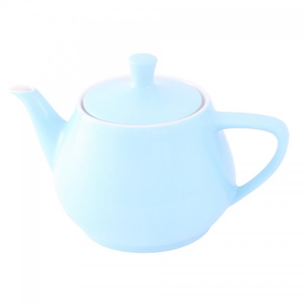 Teekanne 1,4l Pastellblau Friesland Porzellan