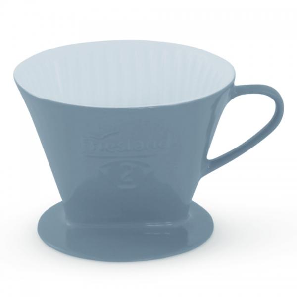 Friesland Kaffeefilter Größe 2 Steingrau