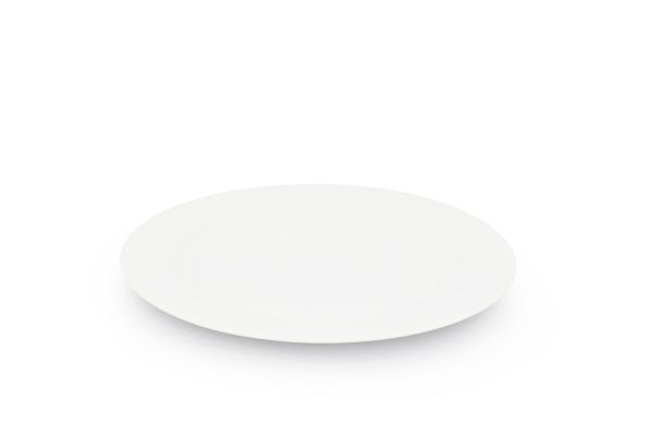 Speiseteller 27cm Ø Horizont Weiß