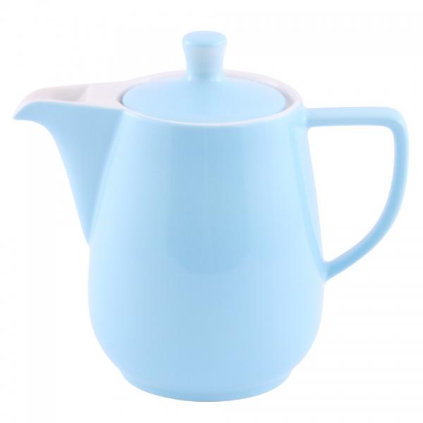 Kaffeekanne 0,9l Pastellblau Friesland Porzellan
