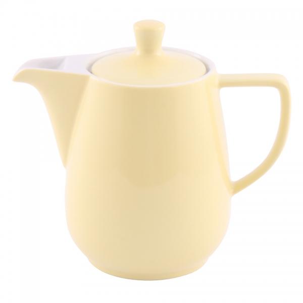 Kaffeekanne 0,9l Pastellgelb Friesland Porzellan