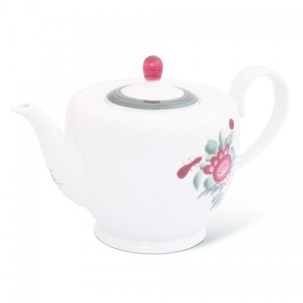 Teekanne 1,25l Atlantis Ostfriesische Rose