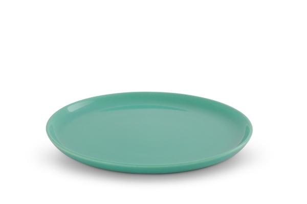 Frühstücksteller Trendmix Jade-Grün Friesland Porzellan