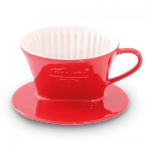Tassenfilter Rot Friesland Porzellan