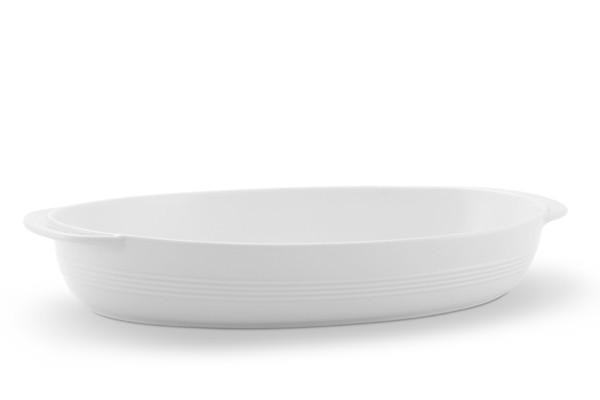Auflaufschale Jeverland Weiß Friesland Porzellan