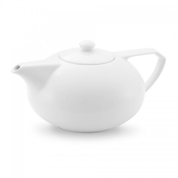 Teekanne 1,3l Ecco Weiß Friesland Porzellan