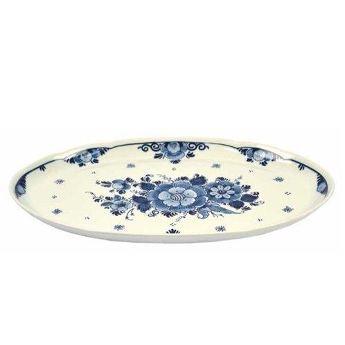 Platte oval Delft Blau 36 cm