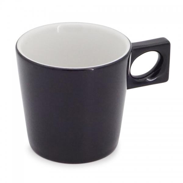 Cappuccinotasse, 0,20l NYNY Schwarz