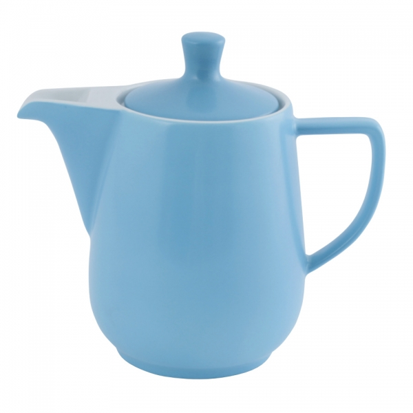 Kaffeekanne 0,9l Azurblau Friesland Porzellan