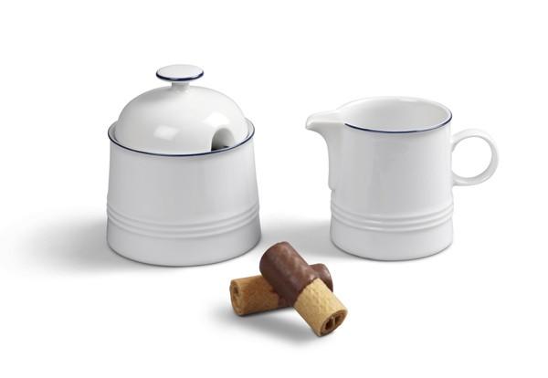 Milch und Zucker Ergänzungsset Jeverland Kleine Brise Friesland Porzellan