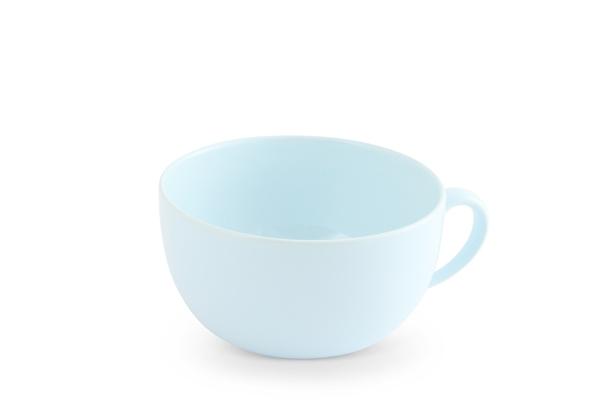 Jumbotasse Cappuccinotasse Trendmix Pastellblau