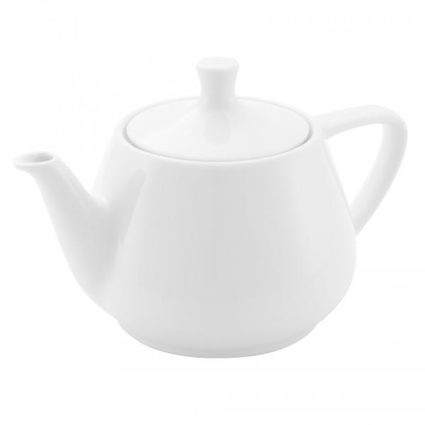 Teekanne 0,85l Weiß Friesland Porzellan
