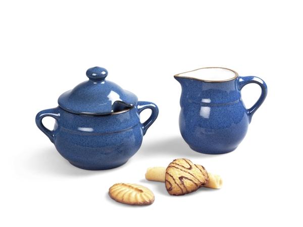 Milchkännchen & Zuckerdose Set 2tlg. Ammerland Blue
