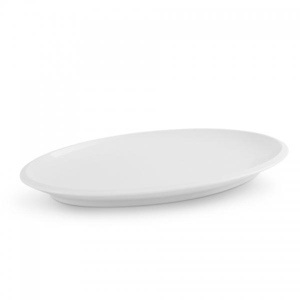 Platte 39,5cm Ecco Weiß