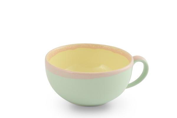 Obertasse Cappuccino Pastellfarben KoriArt von Friesland