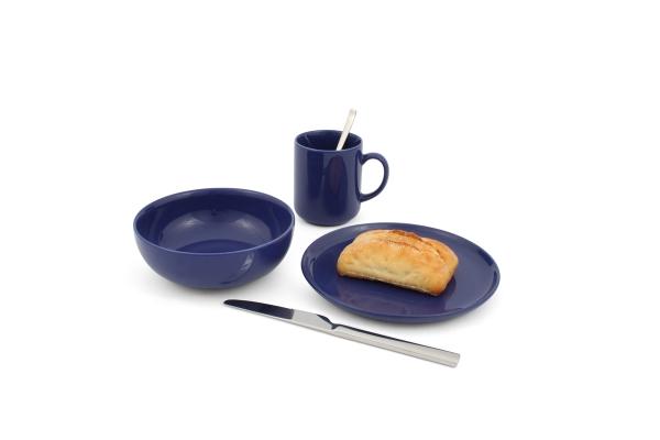 Frühstücks-Set 3tlg. Happymix Blau