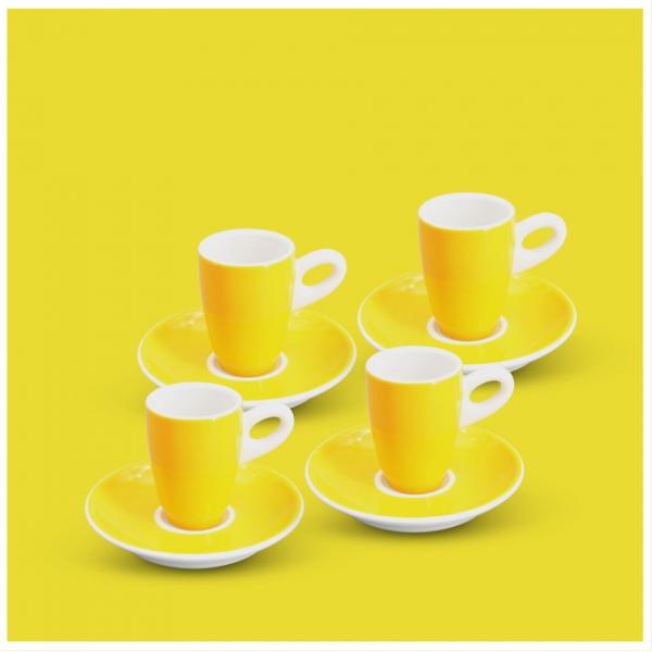 Espresso-Set 8tlg. Alta Gelb
