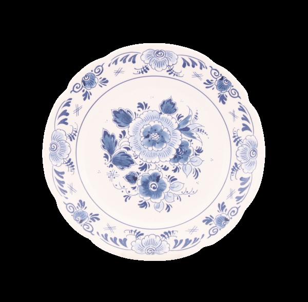 Frühstücksteller 21cmØ Delft Blau Royal Goedewaagen