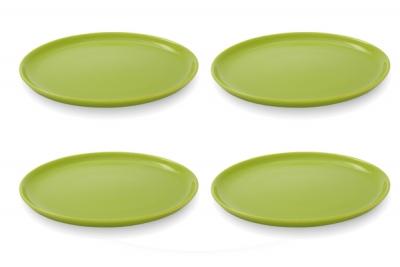 Friesland 4er-Set Frühstücksteller 19cm Happymix Limette