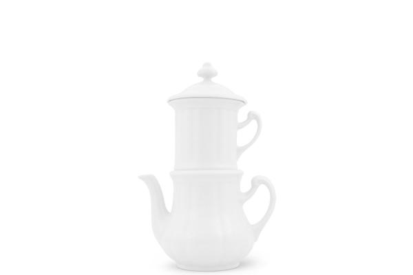 Karlsbader Kaffeemaschine 0,25l Weiß