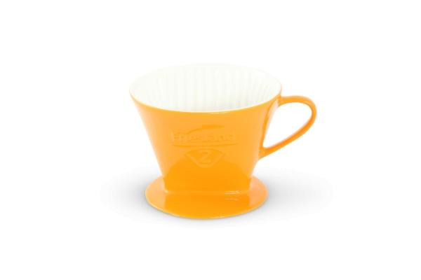Melitta Kaffeefilter Friesland Porzellan Safrangelb 102