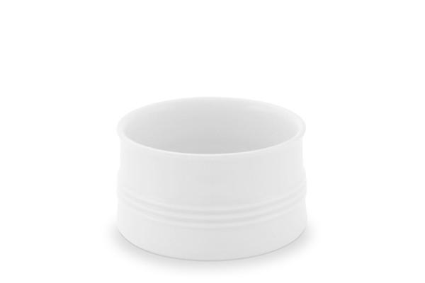 Zuckerschale Jeverland Weiß Friesland Porzellan
