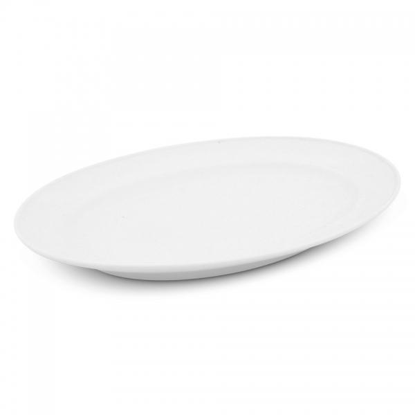 Platte oval, 26,5cm Buffet Weiß