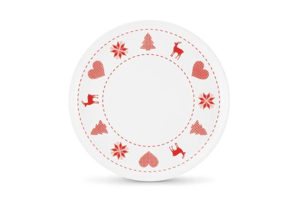 4er-Set Frühstückste Happymix Weihnachten Weiß