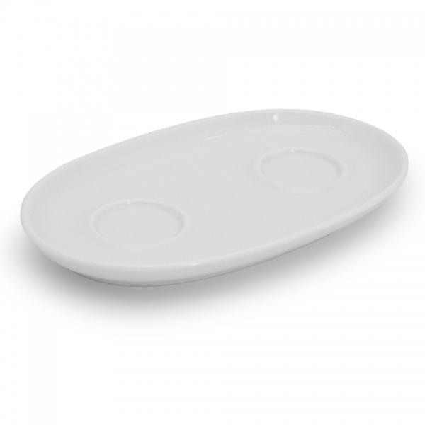 Tablett für Zuckerdose und Milchkännchen Alta Weiß Walküre