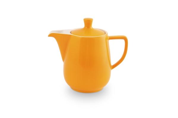 Kaffeekanne 0,6l Safrangelb