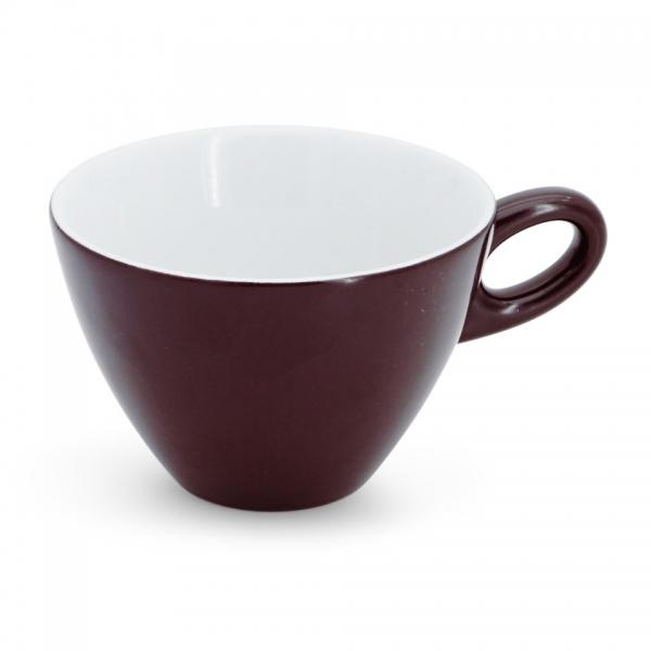 Caffé latte Tasse, 0,25l Alta Dunkelbraun Walküre Porzellan