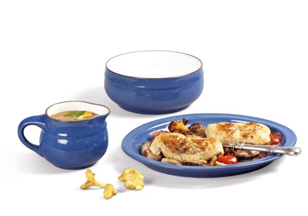 Ergänzungsset Ammerland Blue Sauciere und Schale Friesland Porzellan Ceracron