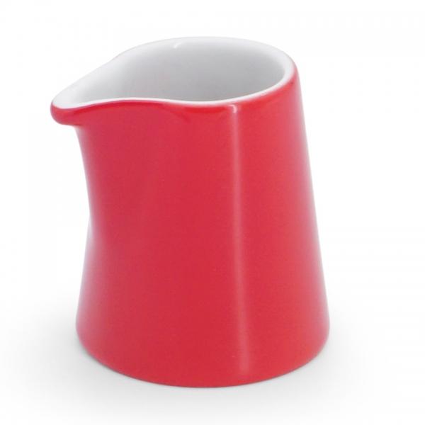 Milchkännchen, 0,06l NYNY Feuerrot Walküre Porzellan