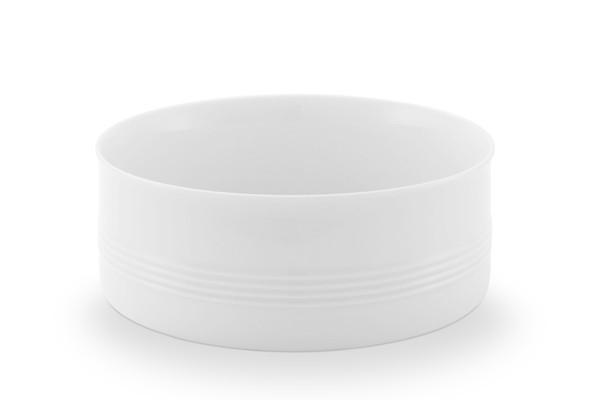 Schüssel Jeverland Weiß Friesland Porzellan