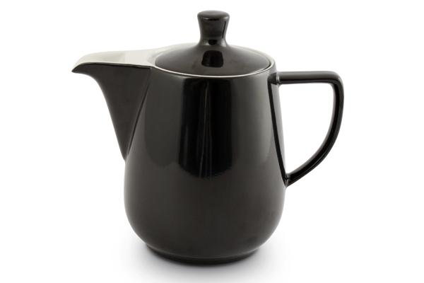 Kaffeekanne Friesland Porzellan Schwarz