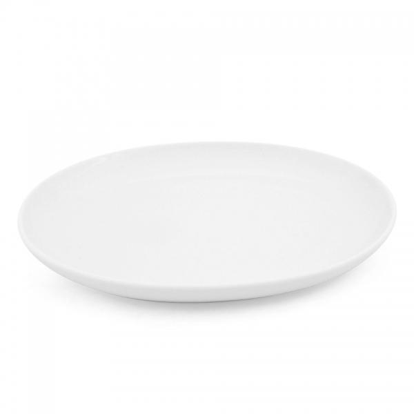 Speiseteller, oval, 27cm Alta Weiß
